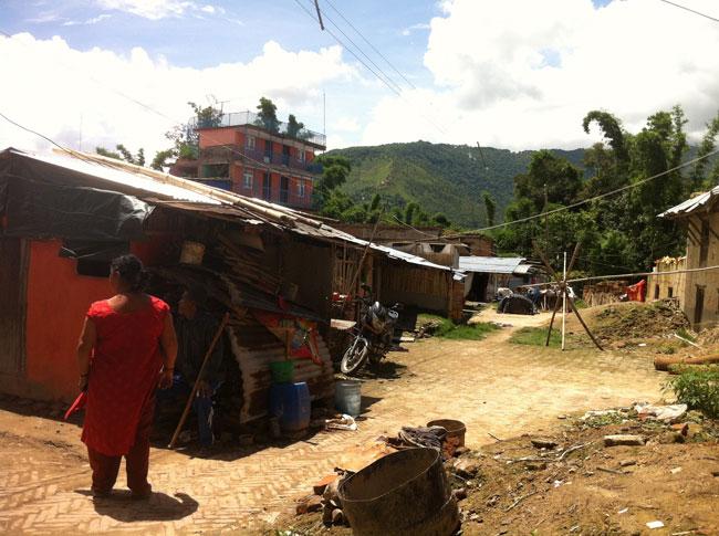 ブンガマティ村