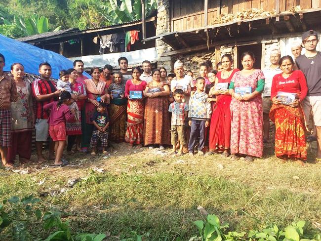 Pandrung ゴルカの村