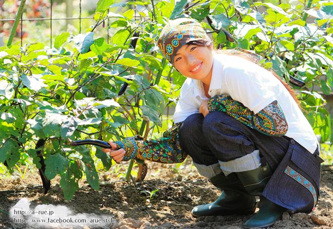 農業ファッション