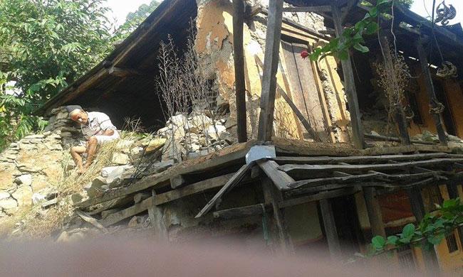 ネパール大地震 Pandrung  2015秋の様子