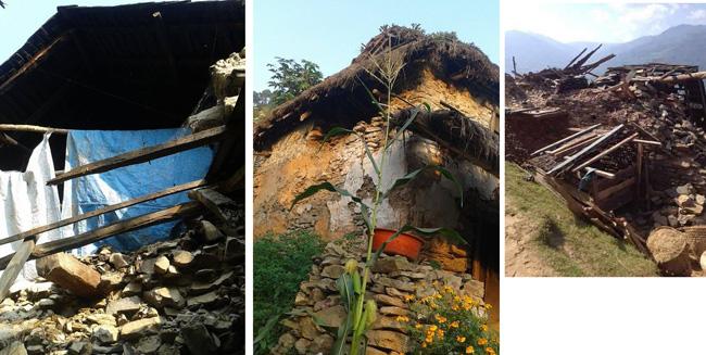 ネパール大地震 Pandrung  2015秋の様子2